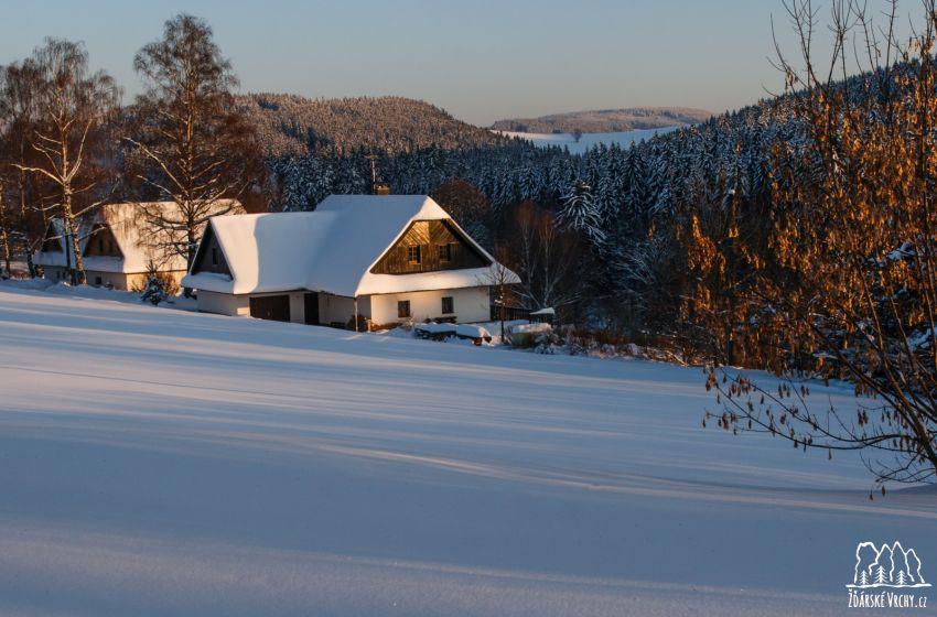 Zima ve Žďárských vrších - 1600 x 1067