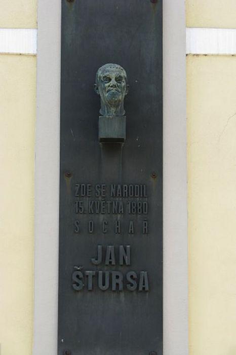 Rodný dům Jana Štursy - 450 x 600