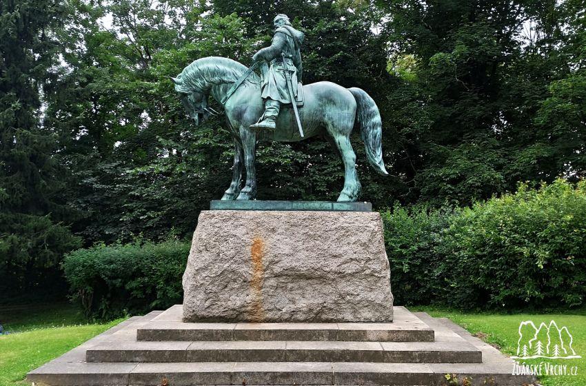 Jezdecká socha Jana Žižky